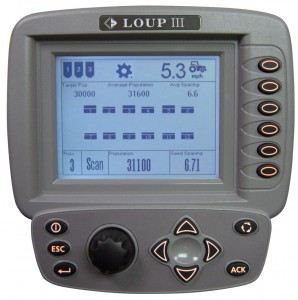 Loup III Drill monitor and Yield monitor