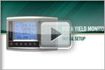 yield monitor setup