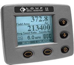 Loup II Drill Monitor air seeders blockage monitor