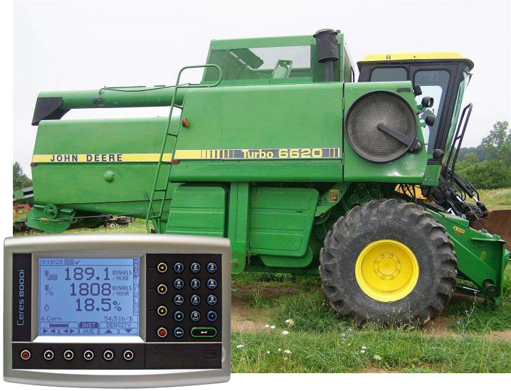 Yield Install: John Deere 6620-7720 - Loup Electronics on