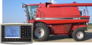 Yield Monitor Case Combine