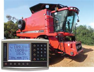 Case 2188-2388-2588. yield monitors case combine