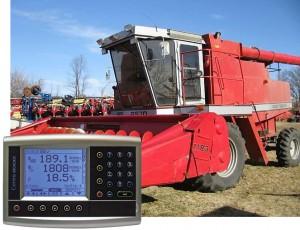 Yield Monitors Massey Ferguson Combine