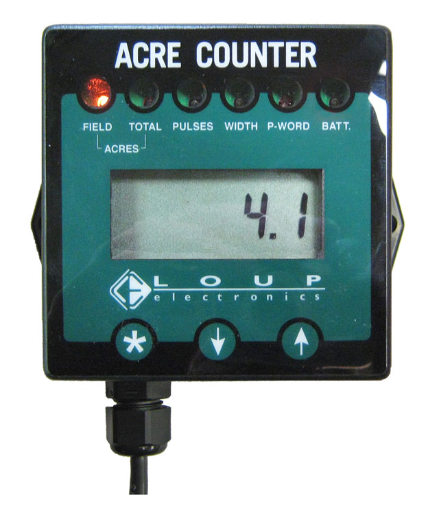 Acre Counter agricultural electronics