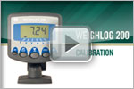 Weighlog 200 Calibration