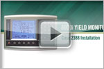 yield monitor installation