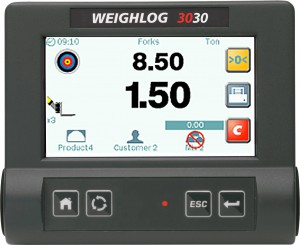 Weighlog 3030 wheel loader scale