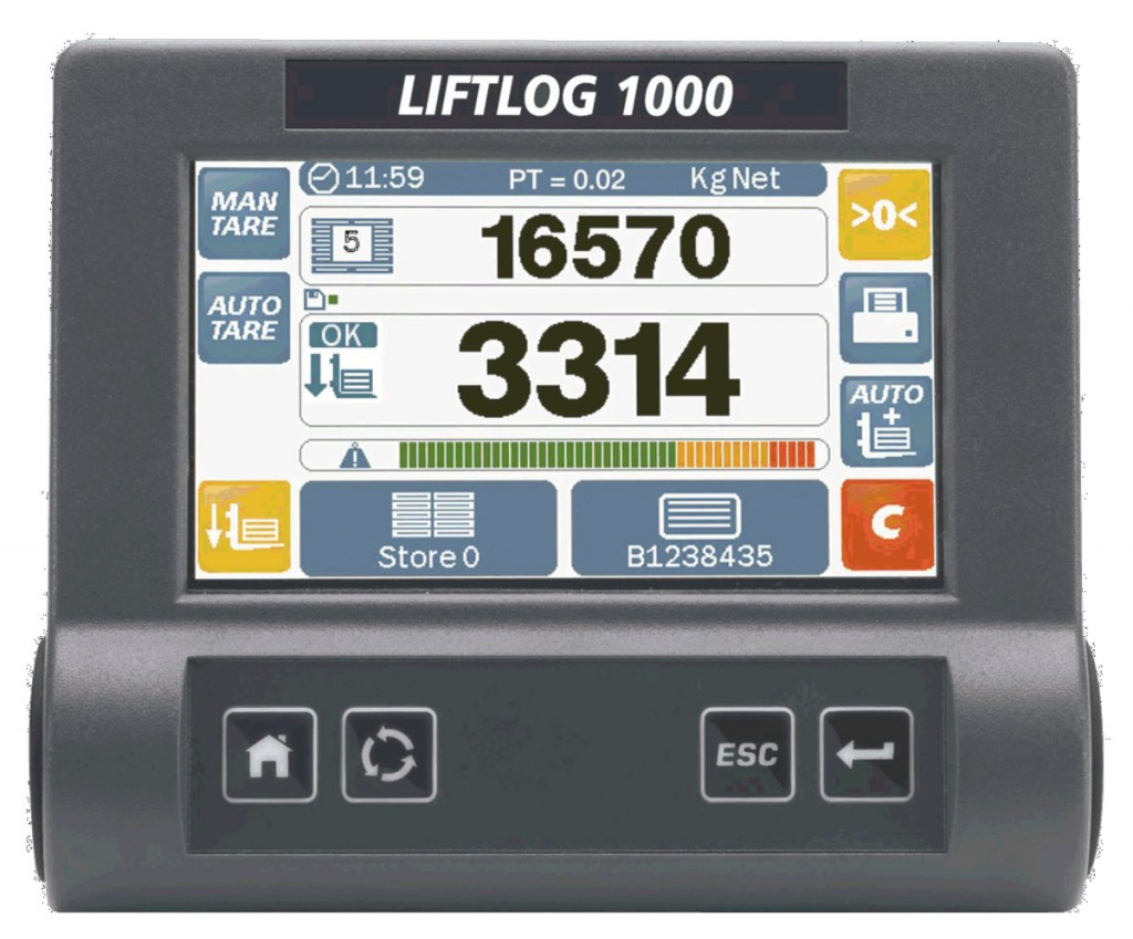 Liftlog 1000 - Universal Forklift Scales - Loup Electronics