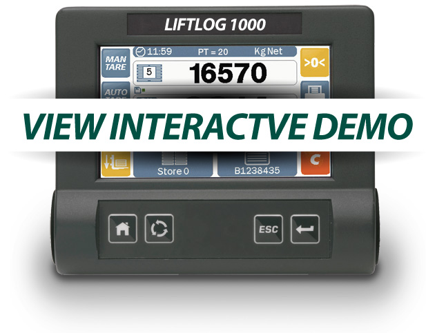 Liftlog 1000 Forklift Demo
