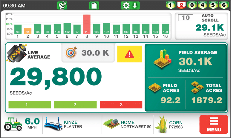 Loup Elite Planter Monitor Screen