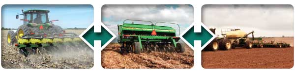 Monitor planters, drills and air seeders