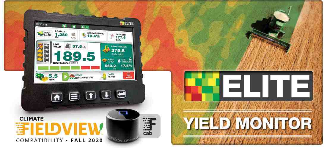 Loup Elite Yield Monitor Climate Fieldview Cab App Compatible
